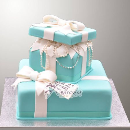 Two tier  Tiffany Cake- AC222