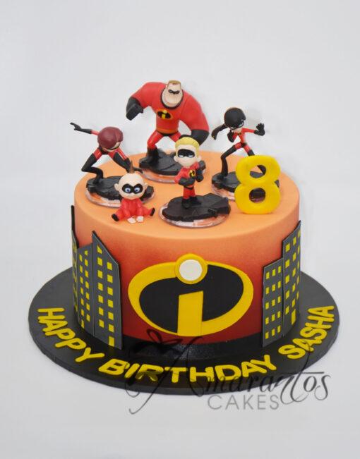 Incredibles Cake Melbourne - AC224 - Amarantos Cakes
