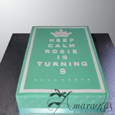Keep Calm Cake- AC225
