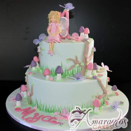 Two tier Fairy Cake- AC230