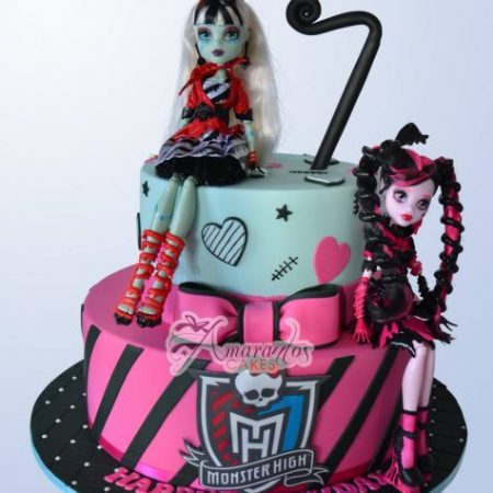 Monster High Cake – AC233