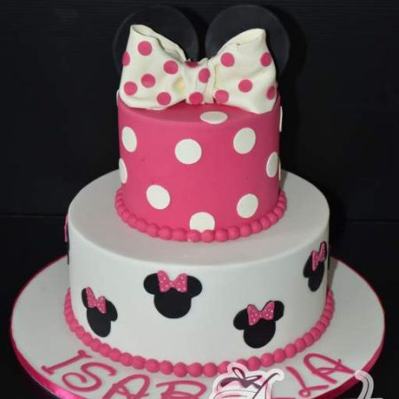Two tier With Minnie Cake – AC236