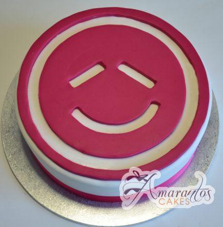 Corporate logo cake - Amarantos Designer Cakes Melbourne