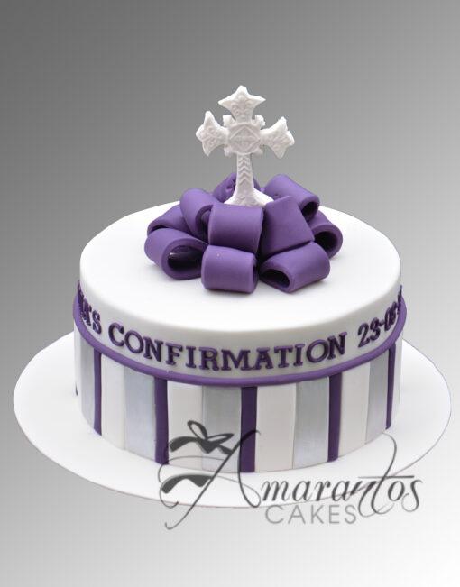 AC240 confirmation with cross WM 1 Amarantos Cakes