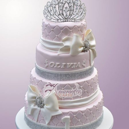 Four Tier Princess Cake- AC242
