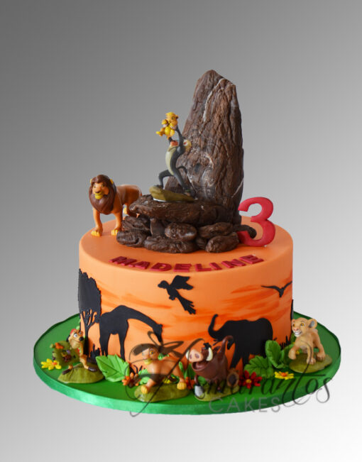 AC243 lion king cake Amarantos Cakes