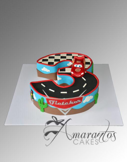 AC246 lightning mcqueen cars movie WM 1 Amarantos Cakes