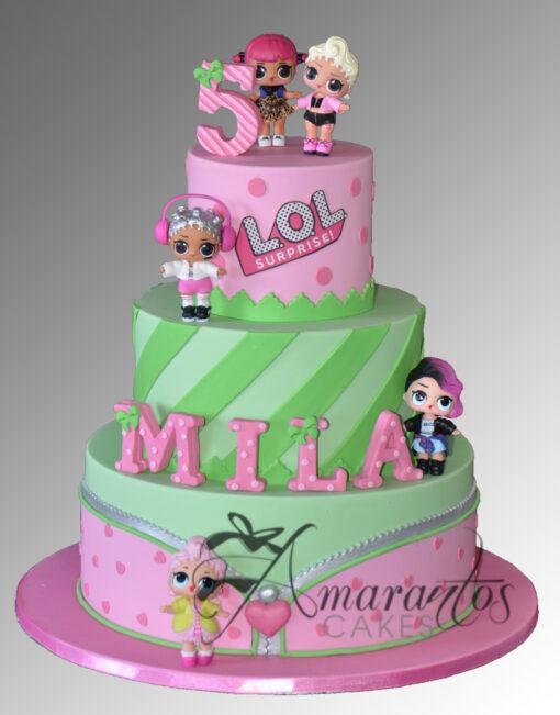 AC248 lol dolls WM 2 Amarantos Cakes