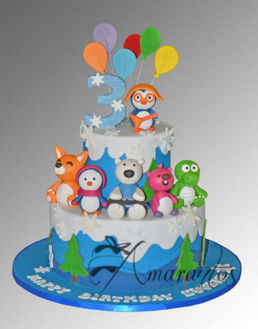 AC254 pororo WM 1 Amarantos Cakes