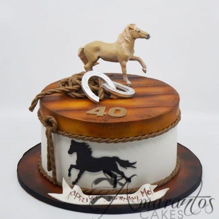 Horse themed cake – AC261