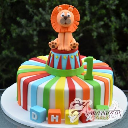 Circus cake with Lion- AC264