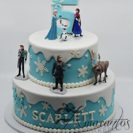 Two tier Frozen Cake – AC275