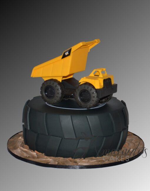 AC276 tyre dump truck WM Amarantos Cakes