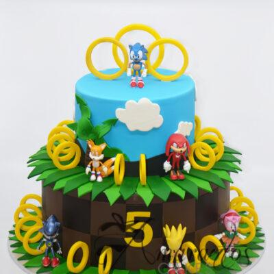 AC285 sonic hedgehog WM Amarantos Cakes