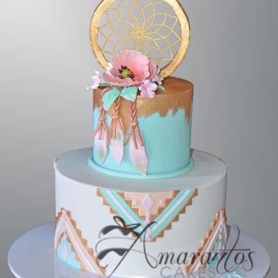 AC291 dream catcher WM Amarantos Cakes