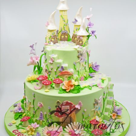 Two tier Fairy Cake- AC292