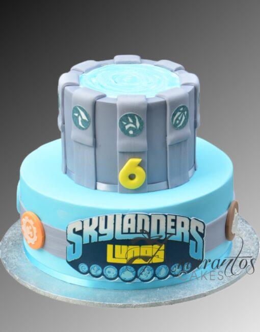 AC294 skylander WM Amarantos Cakes