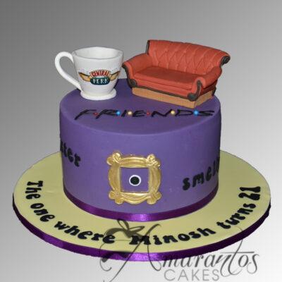 Friends Cake - AC30 - Amarantos Cakes