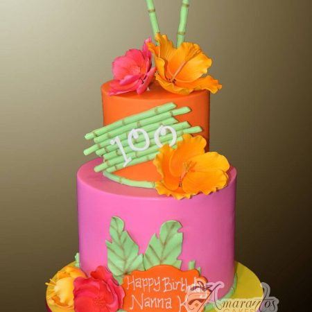 Two tier Tropical design – AC301