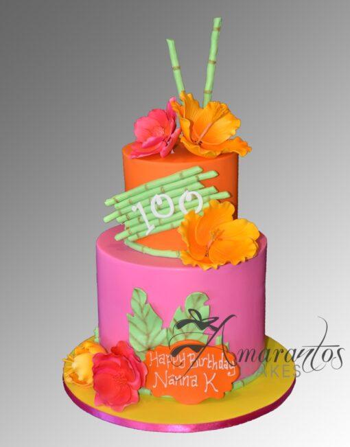 AC301 hawaiian WM Amarantos Cakes