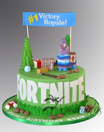 Fortnite Cake AC309 Amarantos Cakes