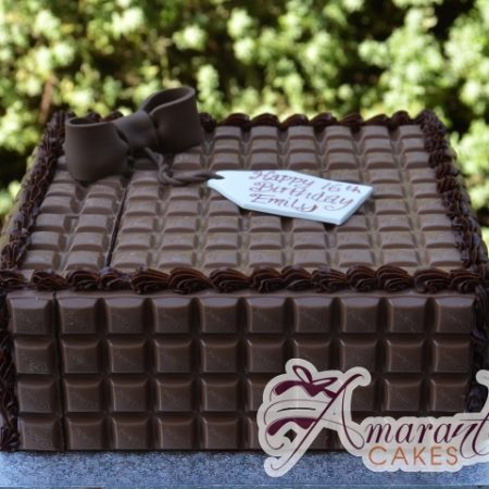 Chocolate Block cake – AC310