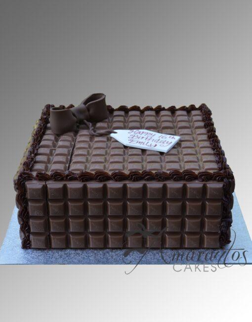 AC310 cadbury choc blocks WM Amarantos Cakes