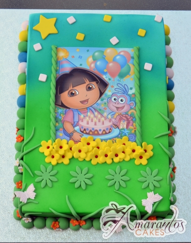 Dora Cake - Amarantos Designer Cakes Melbourne