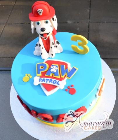 Paw Dog Cake - Amarantos Melbourne Cakes