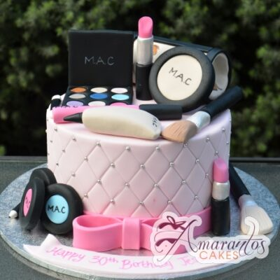 MAC Make up Cake 3D - Amarantos Melbourne Cakes