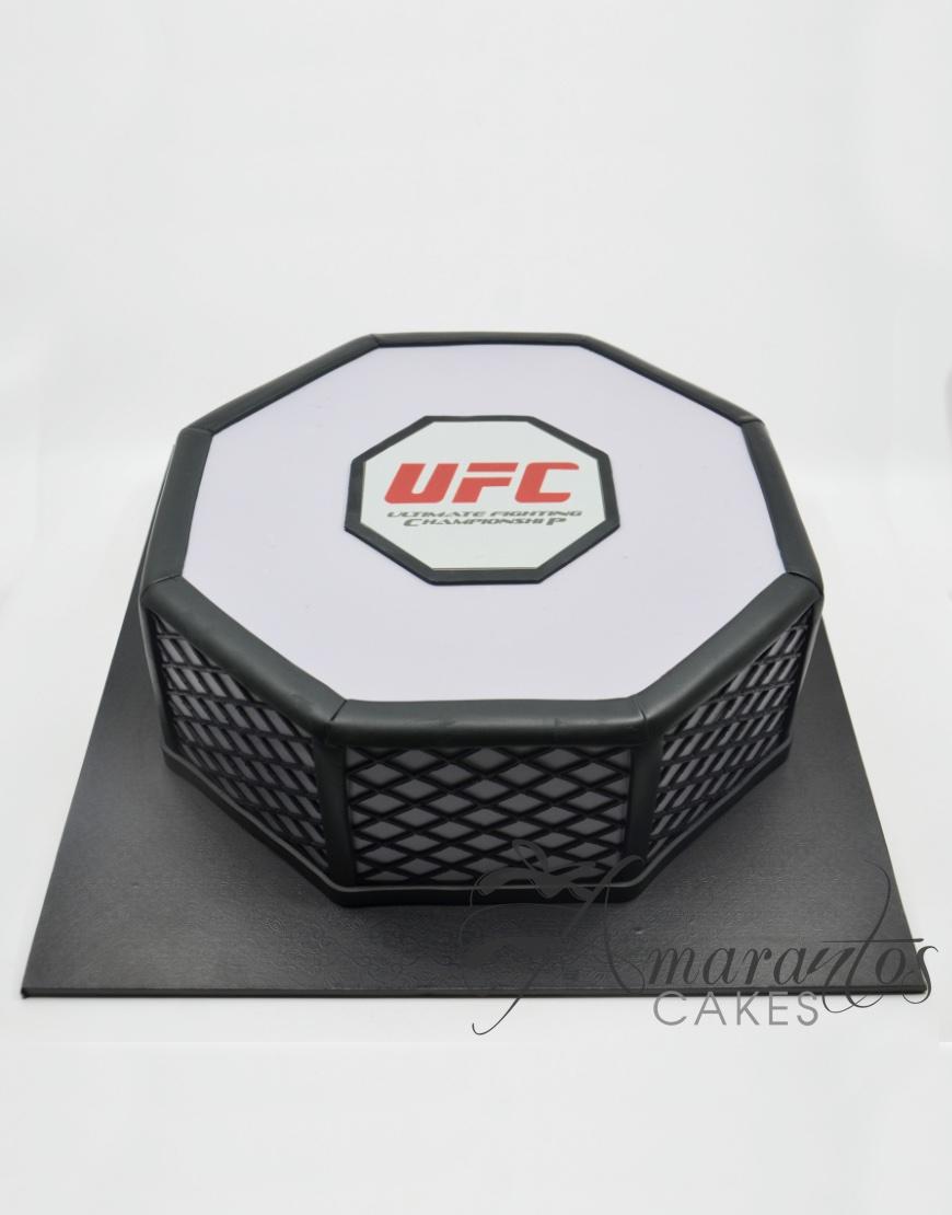 UFC Cake - AC341 - Amarantos Cakes