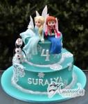 Two tier Frozen Cake – AC347