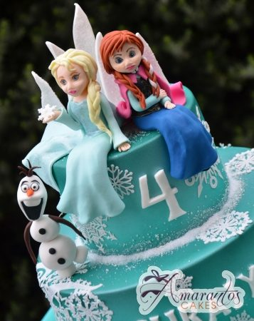 Two tier Frozen Cake – AC347