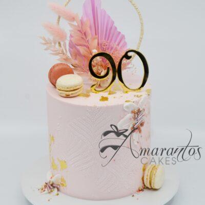 Boho Cake - AC354 _ Amarantos Cakes