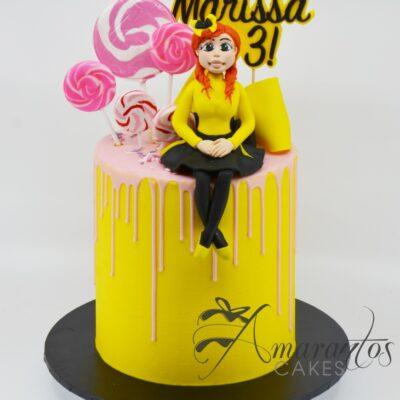 Wiggles Emma Cake - AC52 - Cakes Melbourne - Amarantos