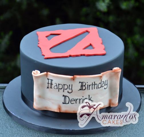 Dota Themed Cake - Amarantos Designer Cakes Melbourne