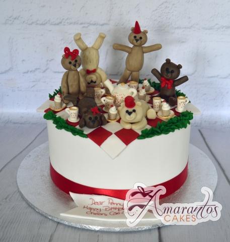 AC363D Amarantos Cakes