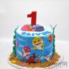 AC40 baby shark WM Amarantos Cakes