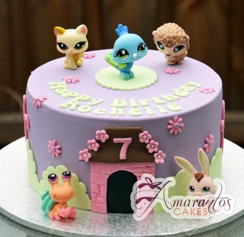Littlest Pet Shop Cake - Amarantos Designer Cakes Melbourne