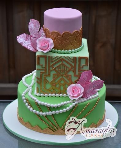 Gatsby Cake - Amarantos Designer Cakes Melbourne