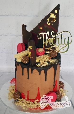 Chocolate Cake - Amarantos Designer Cakes Melbourne