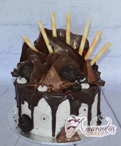 Single Tier Drizzle Cake - Amarantos Designer Cakes Melbourne