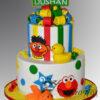 Two tier sesame street cake AC451