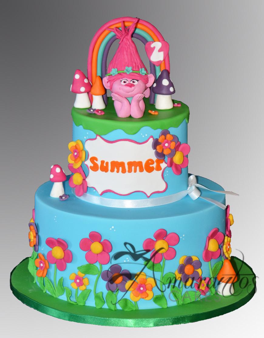 Trolls Cake with Poppy AC460