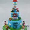 Paw Patrol Cake - Amarantos Cakes - AC48
