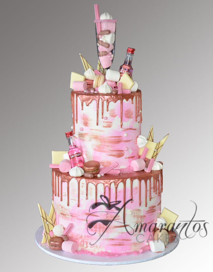 Four tier Drip cake AC482