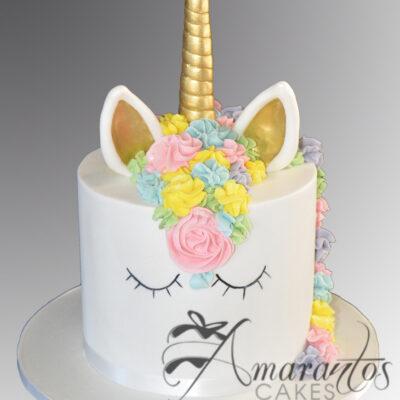 Unicorn Cake - Amarantos Cakes - AC485