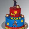 AC510 Two tier Dragon Ball Z Cake