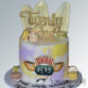 AC518 Two tier friends themed cake
