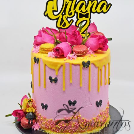 Two Tier Emma Wiggle Cake – AC52